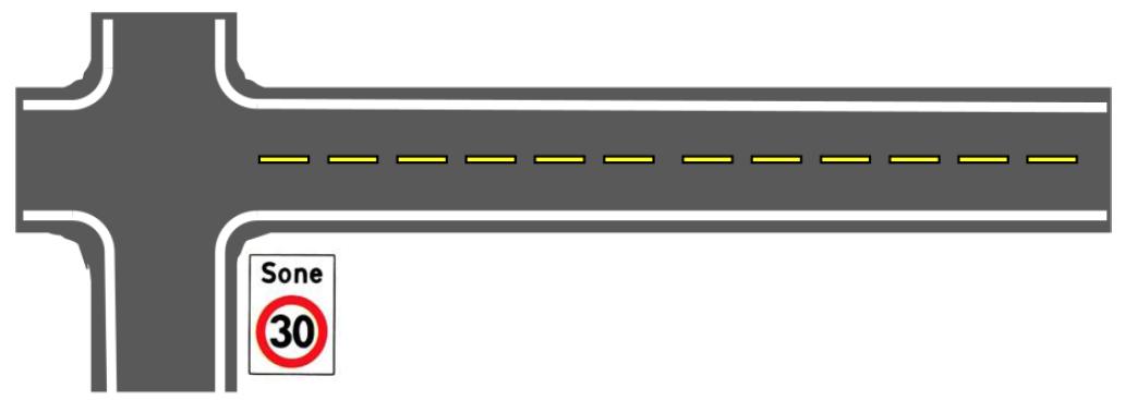 Fartsgrenser vei